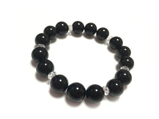 黒水晶ブレス